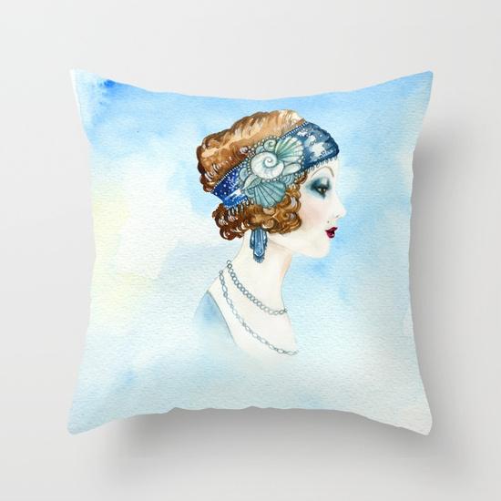art-deco-portrait-pillows